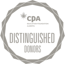 Distinguished Donors badge