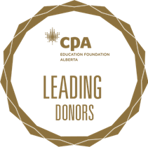 Leading Donors badge