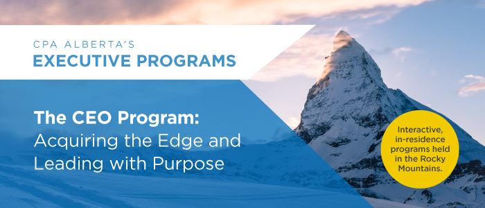 CEO Program: Acquiring the Edge and Leading with Purpose