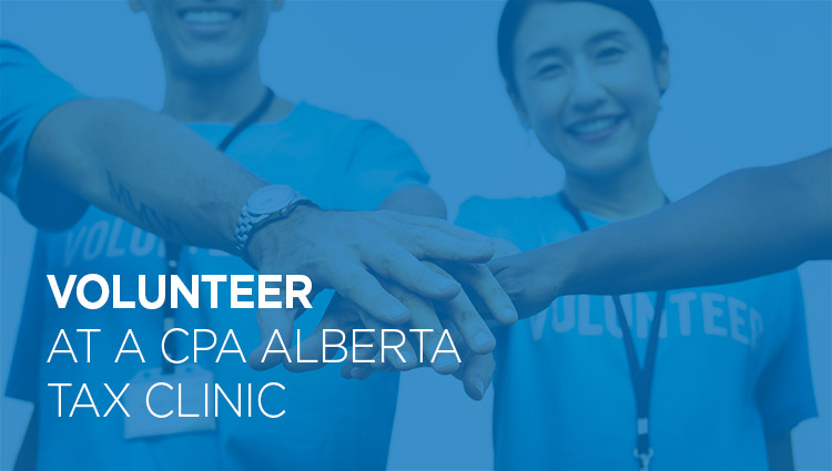 Volunteer at a tax clinic