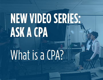 Ask a CPA video series